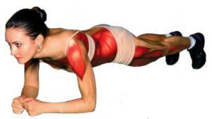 A prancha é um exercício basA prancha desafia bastantes grupos musculares e não apenas o transverso do abdómen como é recorrentemente evidenciado.