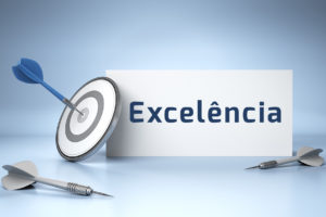 A excelência é um processo de melhoria constante, é sinónimo de resiliência..