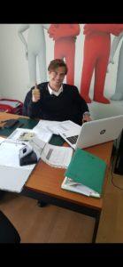 Rui Caetano concilia a carreira de futebolista profissional com a de administrador do grupo idealKorpus que opera na área do Fitness