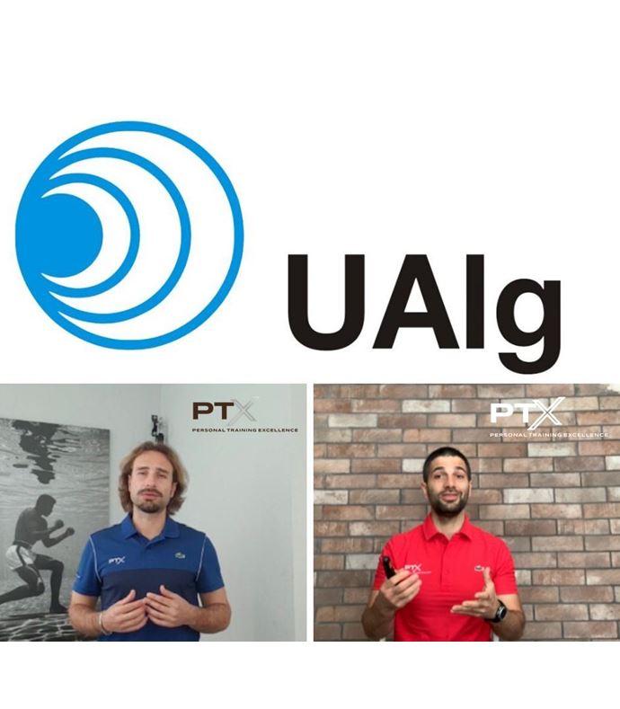 Apresentação da PTX sobre a prescrição de exercício físico para populações especiais ao 3º ano, da Licenciatura em Desporto da UAlg.