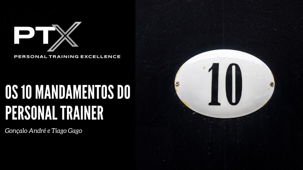 10 mandamentos personal trainer