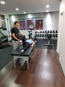 A Artémia iniciou o processo de treino de forma segura com o seu Personal Trainer