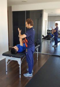 """"""" A ativação muscular tem-me ajudado ao nível da coluna."""""""
