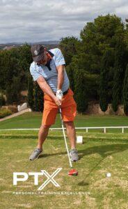 Golfe e o treino de força.