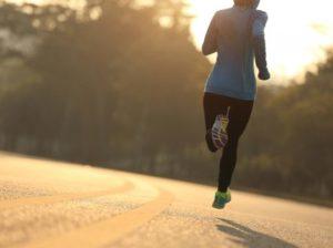Corrida não é exercício físico