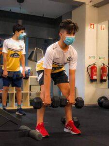 Os jovens atletas - prática desportiva juvenil