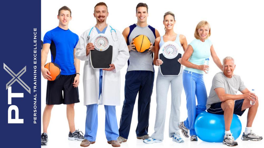profissionais de saude e fitness